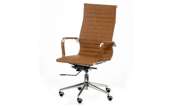 Кресло Solano artleather light-brown (E5777)